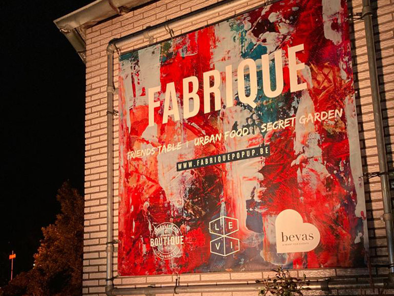 Pop-up Fabrique